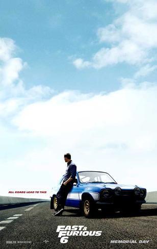 Fast & Furious 6 Masterprint