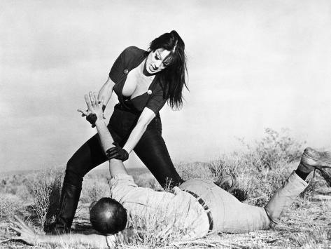 Faster, Pussycat! Kill! Kill!, Tura Satana, Paul Trinka, 1965 Photo