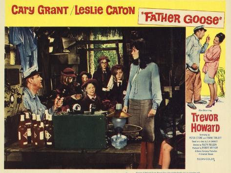 Father Goose, 1965 Art Print