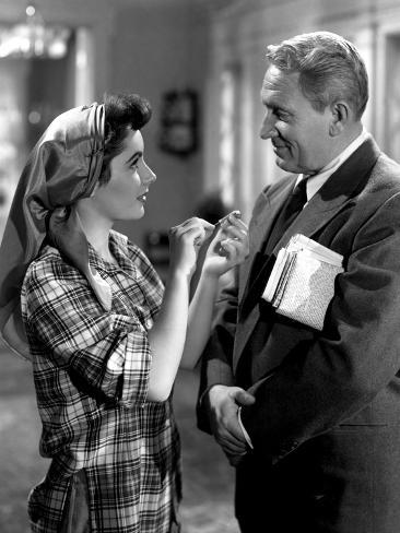 Father of The Bride, Elizabeth Taylor, Spencer Tracy, 1950 Foto