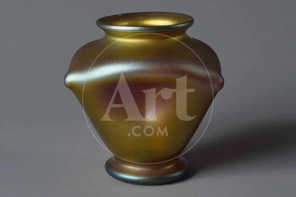 Favrile Glass Vase Tiffany Glass And Decorating Company United