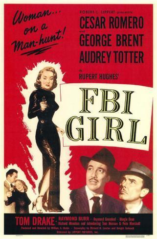 FBI Girl Impressão original