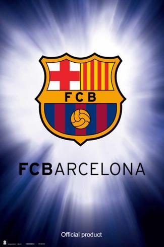 FC Barcelona- Shield Poster