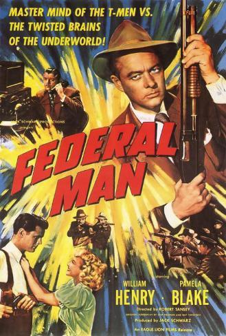 Federal Man Poster