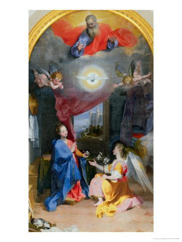 Annunciation Giclee Print