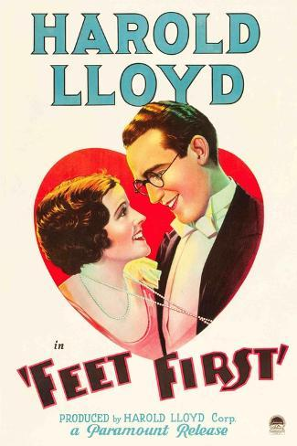 Feet First [1930], Directed by Clyde Bruckman. Giclee Print