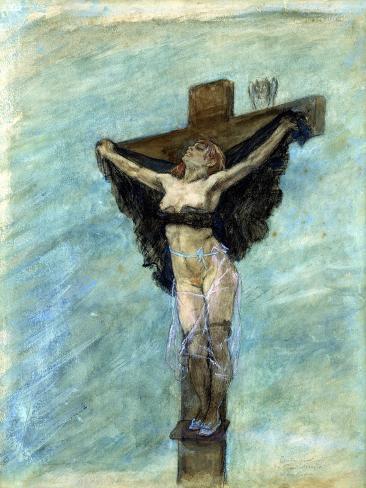 Study for the Temptation of St. Anthony, 1878 (Gouache on Paper) Lámina giclée