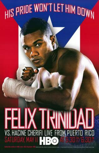Felix Trinidad vs Hacine Cherifi Masterprint