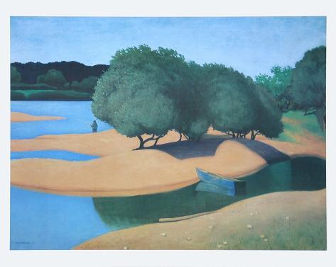 Sands at the Loire Art Print