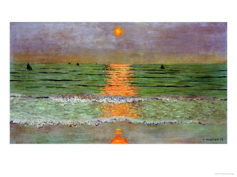 Sunset, 1913 Giclee Print