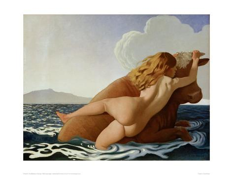 The Abduction of Europa Giclee Print