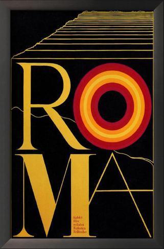 Fellini's Roma Framed Art Print