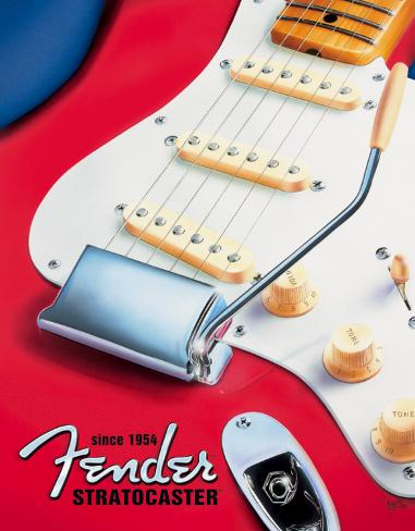 Fender - Strat since 1954 Tin Sign