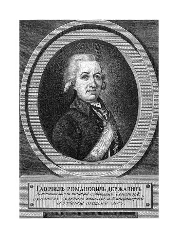 Gabriel Derzhavin Lámina giclée