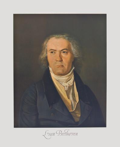 Portrait of Beethoven Collectable Print