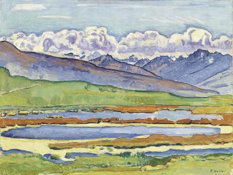 Landscape at Montana Lámina giclée