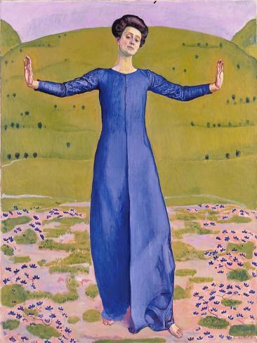Song from Afar, 1906 Lámina giclée