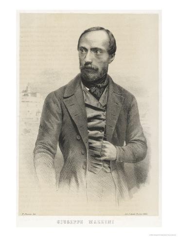 Giuseppe Mazzini Italian Patriot Giclee Print