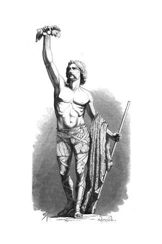 Breenus, Chieftain Giclee Print