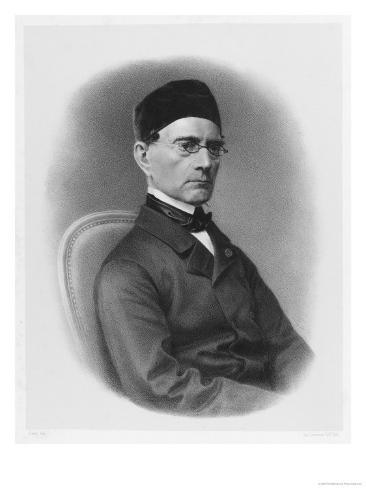 Gabriel Lame French Mathematician and Engineer Worked on First French Railways Giclee Print