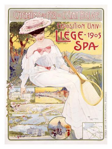 Expo Universelle Liege, 1905 Giclee Print