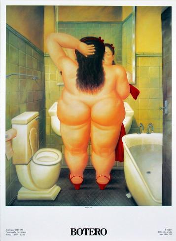 The Bath (Il Bano) Art Print