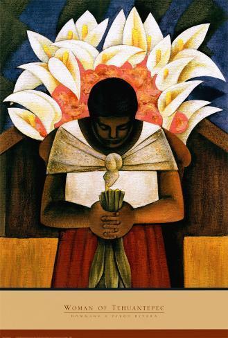 Woman of Tehuantepec Art Print