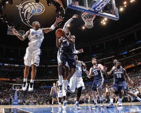 Memphis Grizzlies v Orlando Magic: Tony Allen and Quentin Richardson Photo
