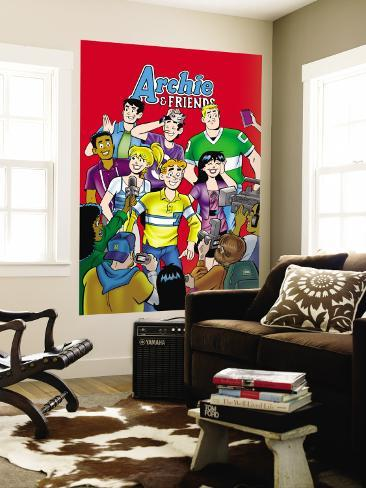 Archie Comics Cover: Archie & Friends No.123 Wall Mural