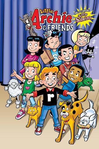 Archie Comics Cover: Archie & Friends No.154 Little Archie Pets Guest Starring Little Sabrina Poster