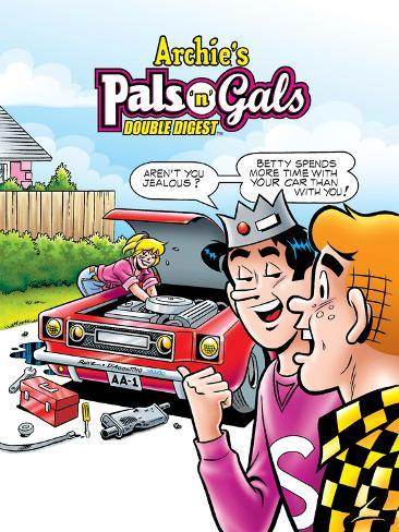Archie Comics Cover: Archie's Pals 'N' Gals Double Digest No.142 Poster