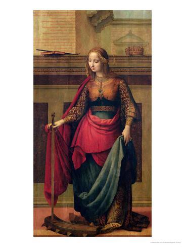St. Catherine of Alexandria Giclee Print