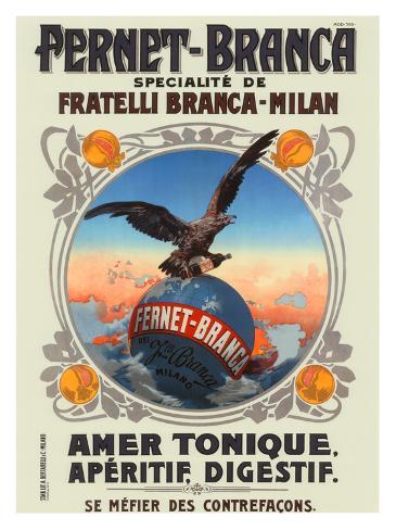 Fernet Branca Giclee Print