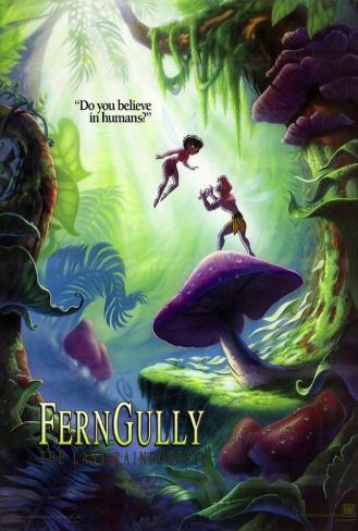Ferngully: The Last Rain Forest Poster