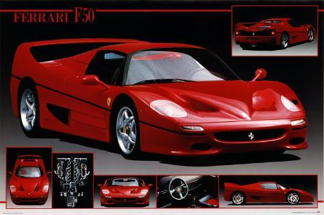 ferrari vintage anonymous detail artists poster border historical the cars posters