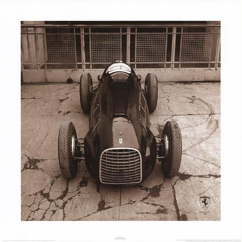 Ferrari F1 Vintage 125 F1 1948 Art Print