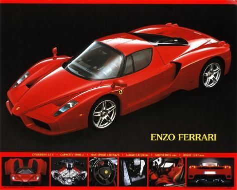 posters online buy at ferrari poster this enzo