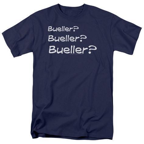 Ferris Bueller's Day Off- Bueller? T-Shirt