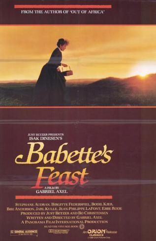 festín de Babette, El Lámina maestra