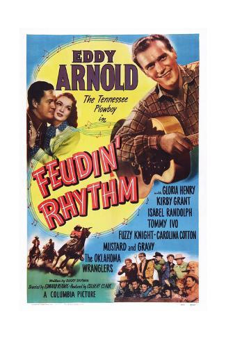 Feudin' Rhythm Giclee Print