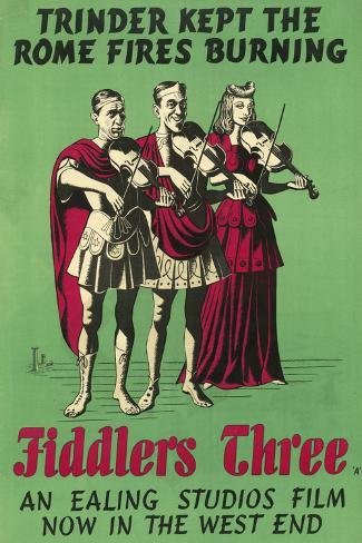 Fiddlers Three Art Print