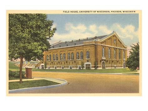Field House, University of Wisconsin, Madison Art Print