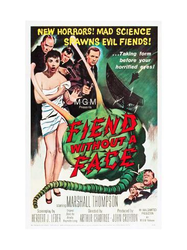 Fiend Without A Face, Kim Parker, Marshall Thompson, 1958 Foto