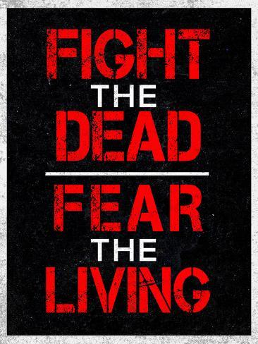 fight the dead fear the living posters na allposters com br