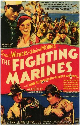 Fighting Marines Masterprint