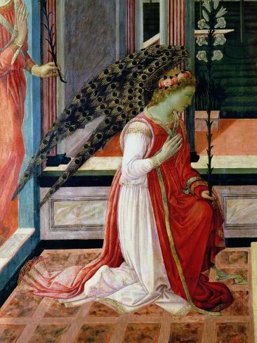 Annunciation (Detail) Giclee Print