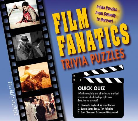 Film Fanatics Trivia Puzzles - 2013 Box/Daily Calendar Calendars