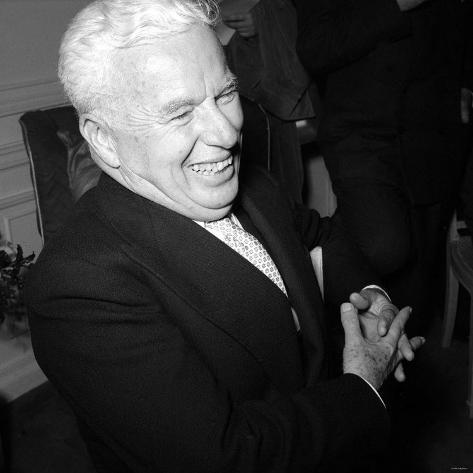 Film Star Comedian Charlie Chaplin Valokuvavedos