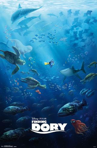 Finding Dory- One Sheet Poster
