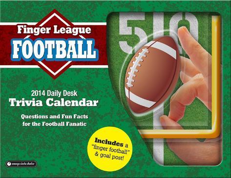 Finger League Football - 2014 Box Calendar Calendars